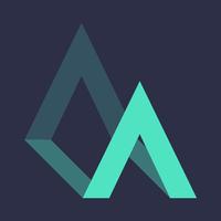 Airgora graphic logo night